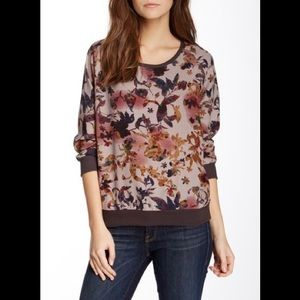 W118 by Walter Baker Crew Neck Floral Shirt